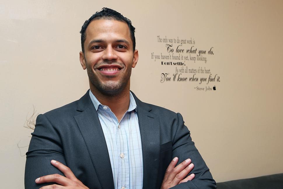 De La Cruz started his business, Regalii, to help immigrants send cash home with a click.