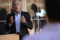 U.S. Senator Mark Udall hold a press conference, on the one-year anniversary of the U.S. Senate passing its comprehensive and bipartisan immigration