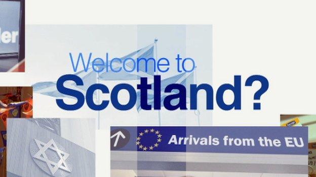 welcome to scotland logo
